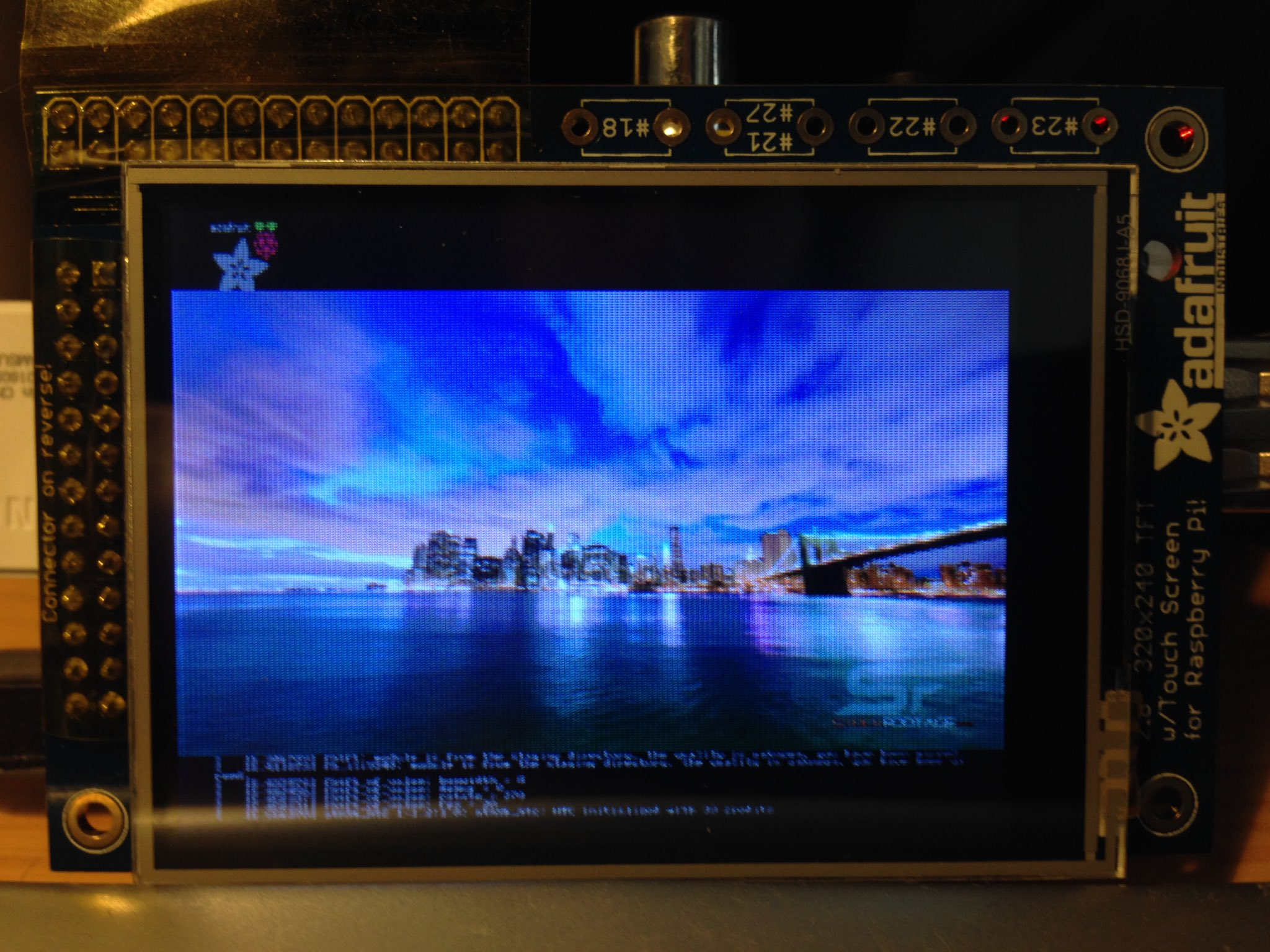 Installing the Adafruit 2 8″ TFT Display on the Raspberry Pi
